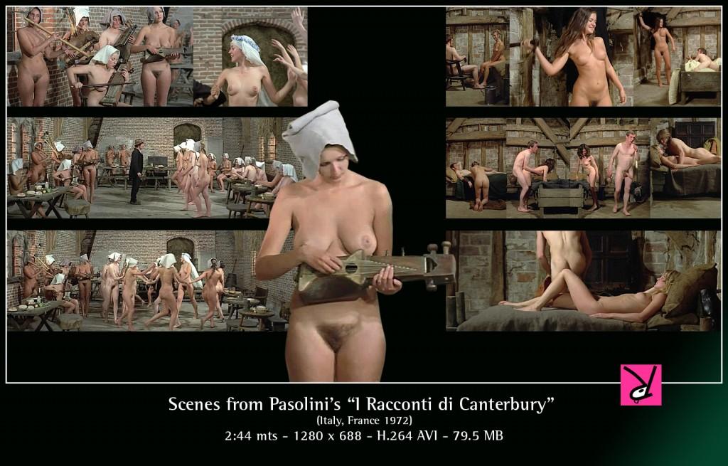 "Scenes from ""I Racconti di Canterbury"""