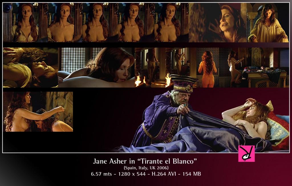 """Jane Asher in """"Tirante el Blanco"""""""