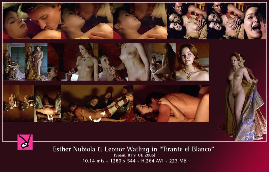 """Esther Nubiola and Leonor Watling in """"Tirante el Blanco"""""""