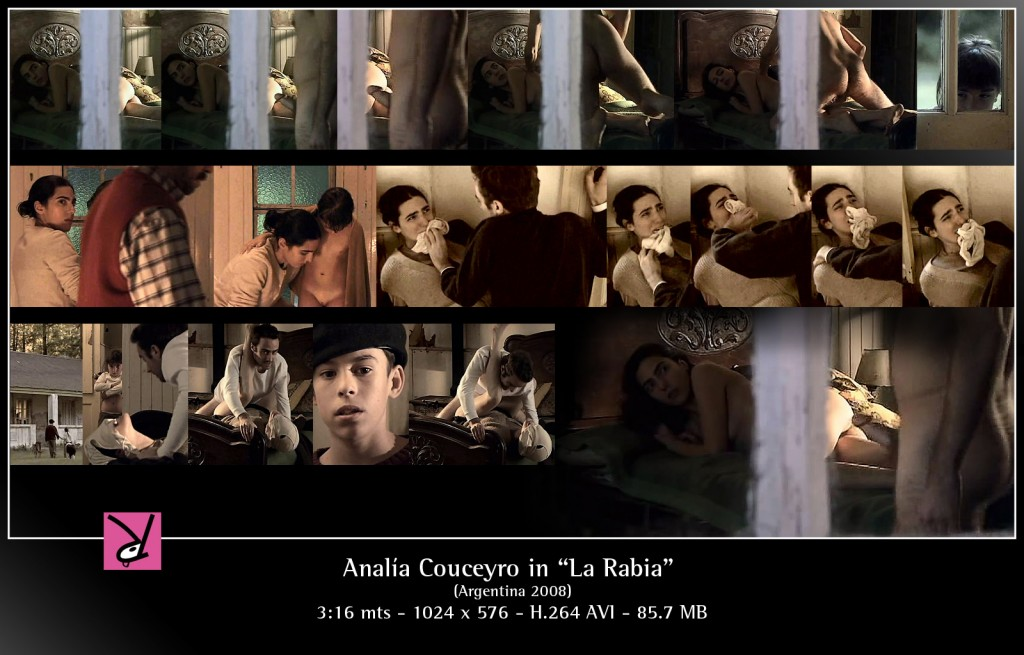 "Analía Couceyro in ""La Rabia"""