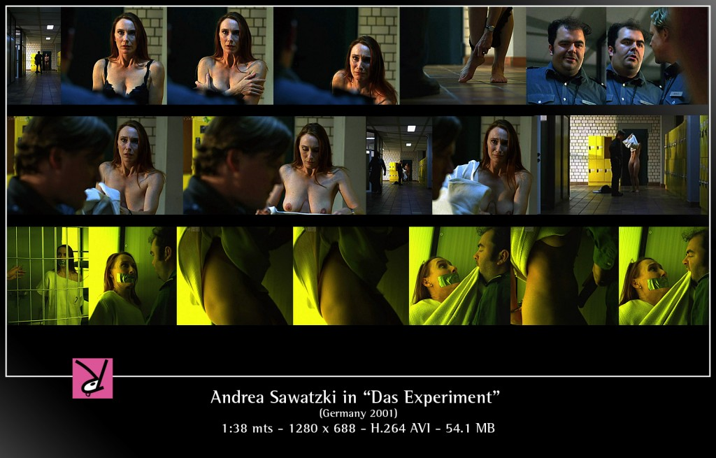 Andrea Sawatzki in Das Experiment