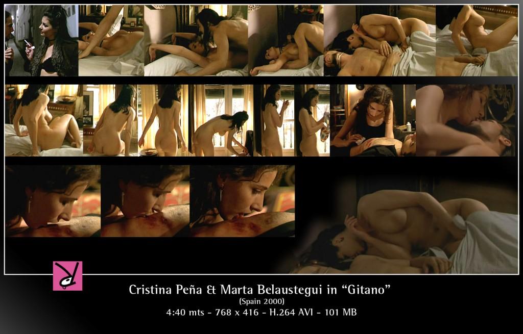 Cristina Peña & Marta Belaustegui in Gitano