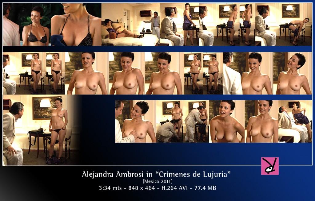 Alejandra Ambrosi in Crimenes de Lujuria