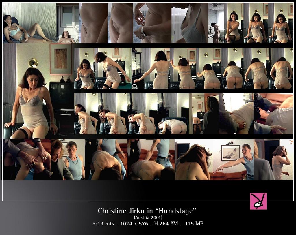 Christine Jirku in Hundstage