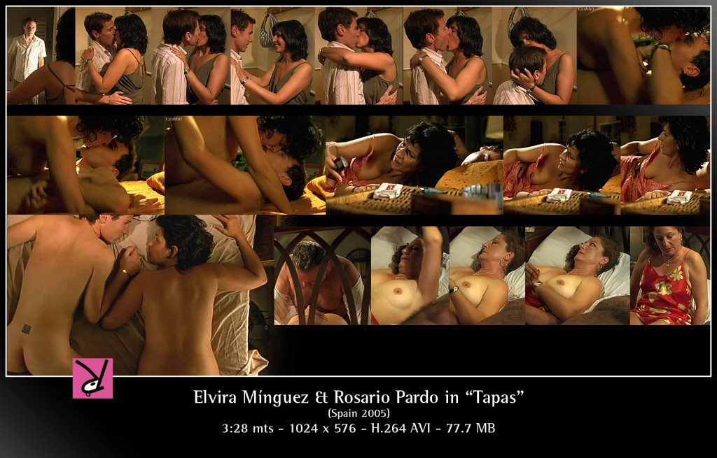 Elvira Minguez & Rosario Pardo in Tapas