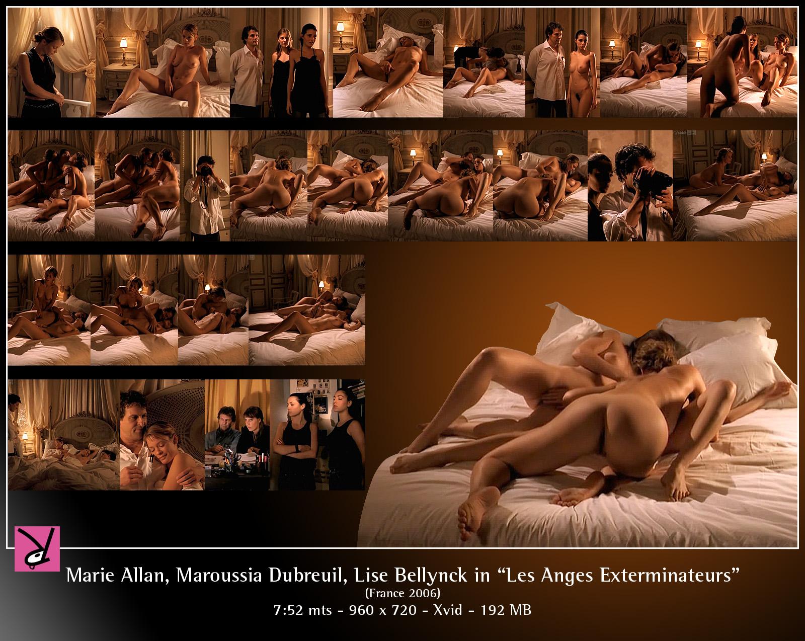 Les anges exterminateurs sex scenes