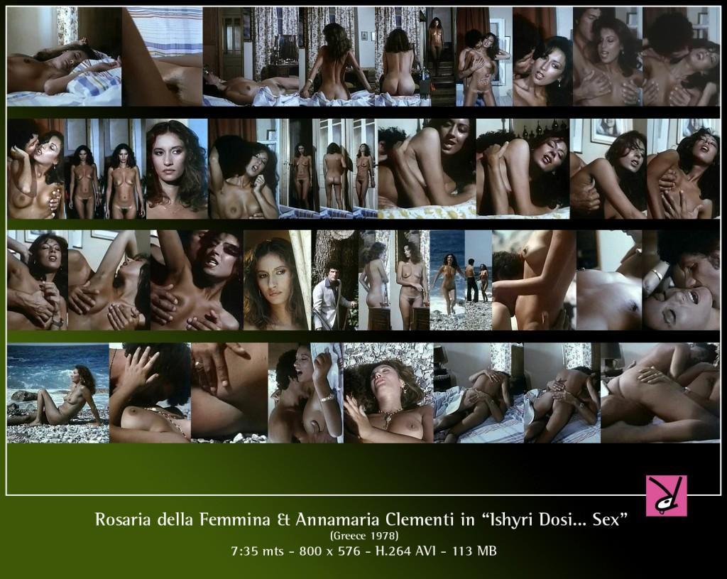 Rosaria della Femmina and Annamaria Clementi in Ishyri Dosi... Sex