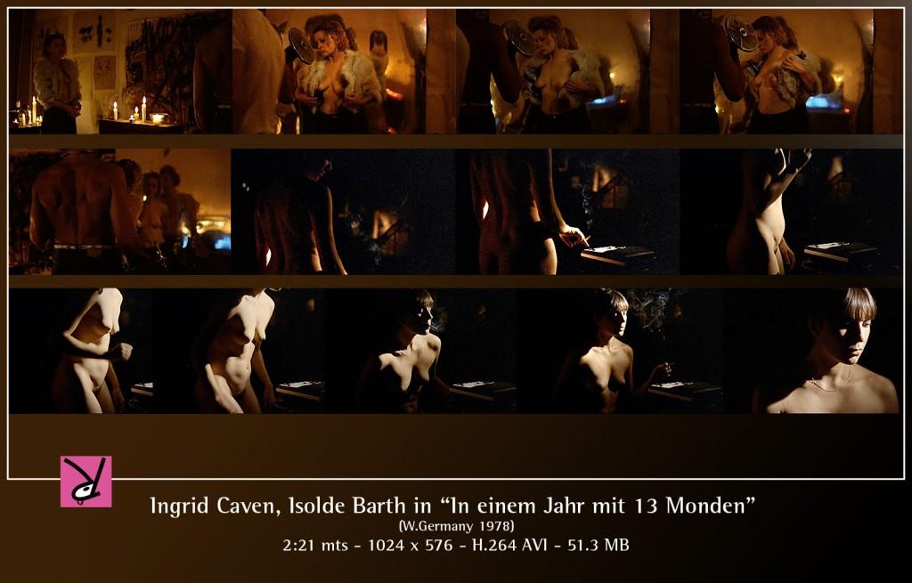 Ingrid Caven & Isolde Barth in In einem Jahr mit 13 Monden