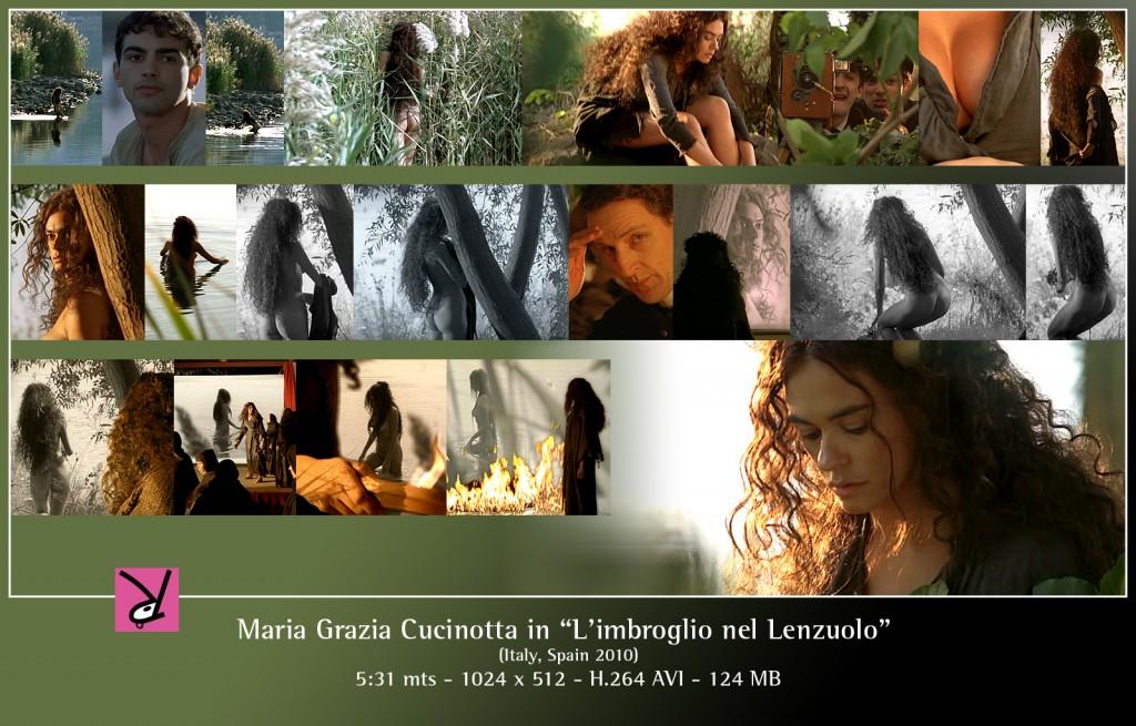 Maria Grazia Cucinotta in L'imbroglio nel Lenzuolo