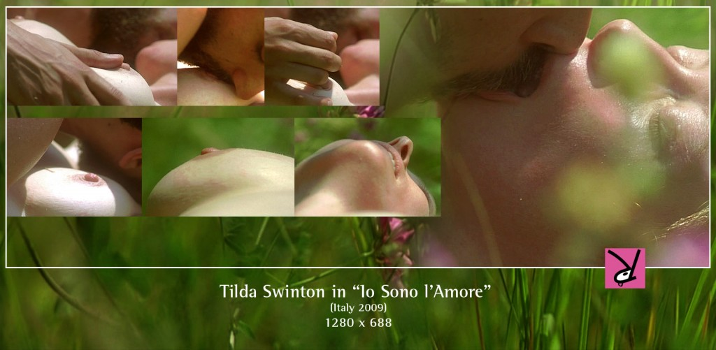 Tilda Swinton nude in I am Love