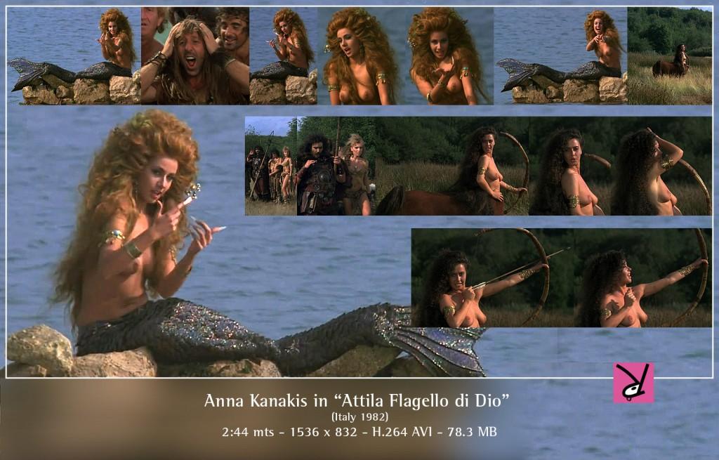 Anna Kanakis in Attila Flagello di Dio