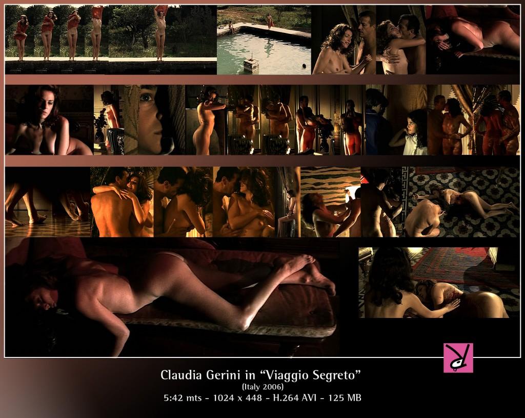 Claudia Gerini in Viaggion Segreto