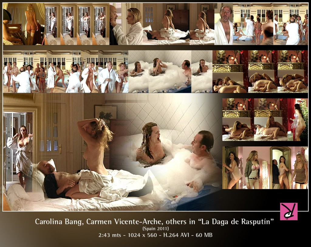 Carolina Bang Carmen Vicente-Arche in La Daga de Rasputin