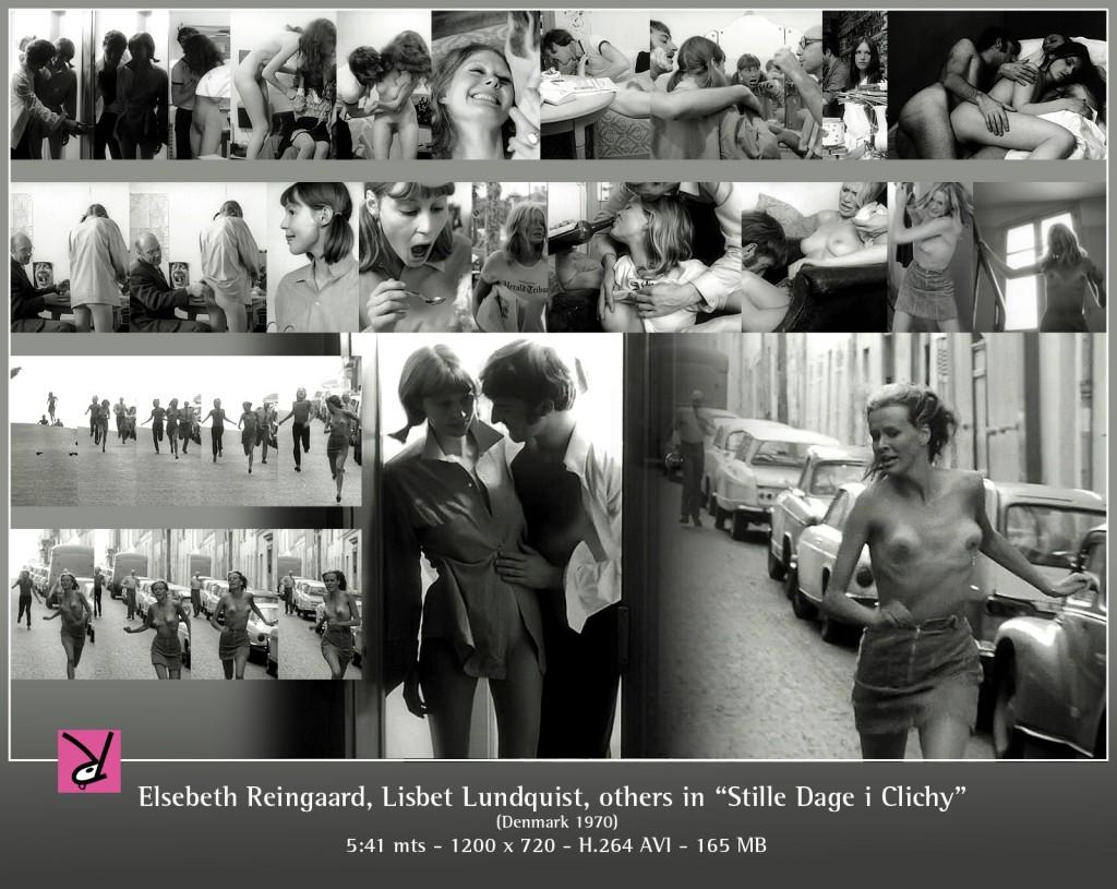 Elsebeth Reingaard, Lisbet Lundquist, others in Stille Dage i Clichy