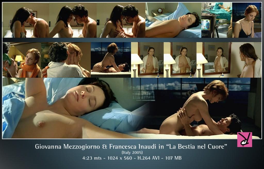 Scenes of Giovanna Mezzogiorno and Francesca Inaudi in La Bestia nel Cuore