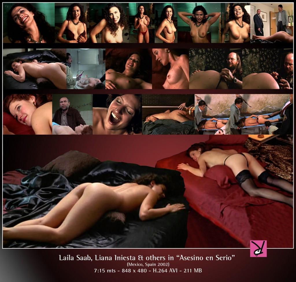 Laila Saab and Liana Iniesta in Asesino en Serio