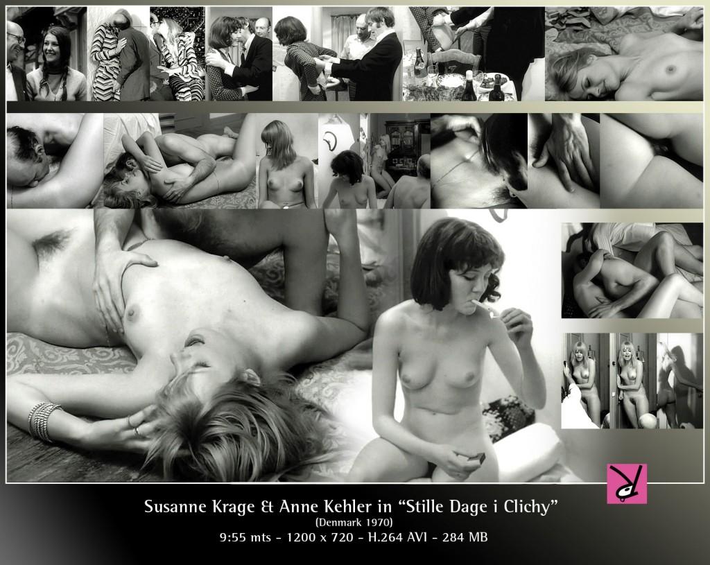 """Sasanne Krage and Anne Kehler in """"Stille Dage i Clichy""""."""