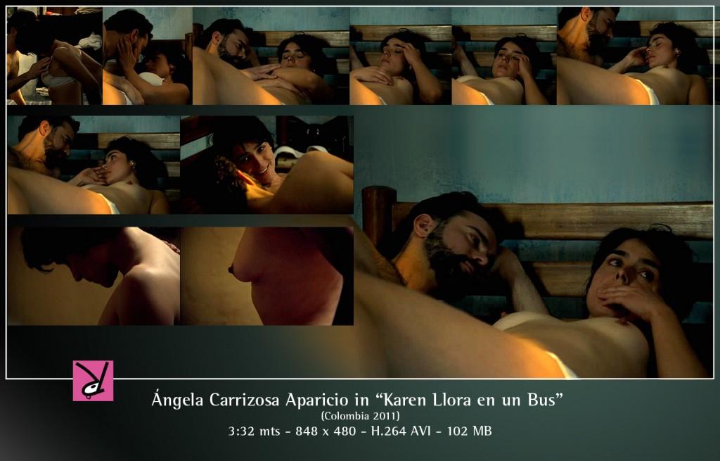 Ángela Carrizosa Aparicio in Karen Llora en un Bus