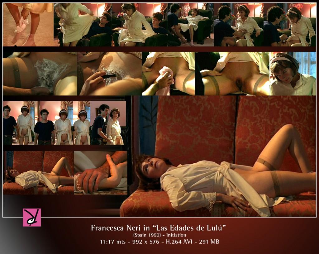 Francesca Neri in Las Edades de Lulú
