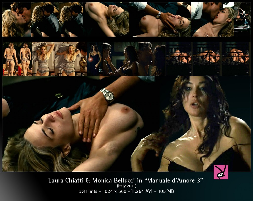 Laura Chiatti and Monica Bellucci in Manuale d'Am3re