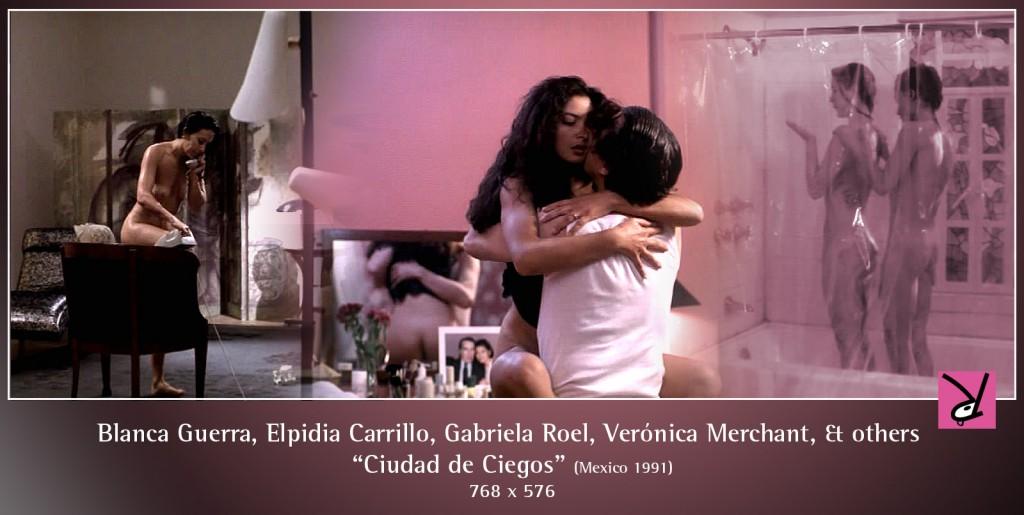 Blanca Guerra, Elpidia Carrillo, Gabriela Roel, Verónica Merchant, Zaide Silvia Gutiérrez, Silvana Orsattin, and Melissa nude in Ciudad de Ciegos