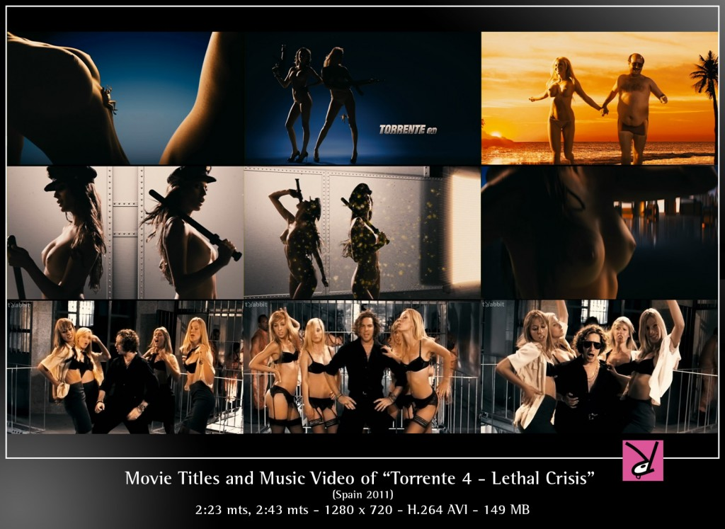 Title sequence and music video from Torrente 4