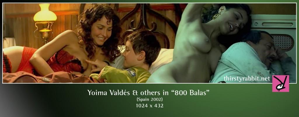 Yoima Valdés nude in 800 balas aka 800 Bullets