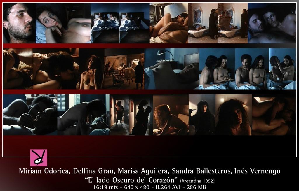 Miriam Odorica, Delfina Grau, Marisa Aguilera, Sandra Ballesteros, and Inés Vernengo in El Lado Oscuro del Corazón
