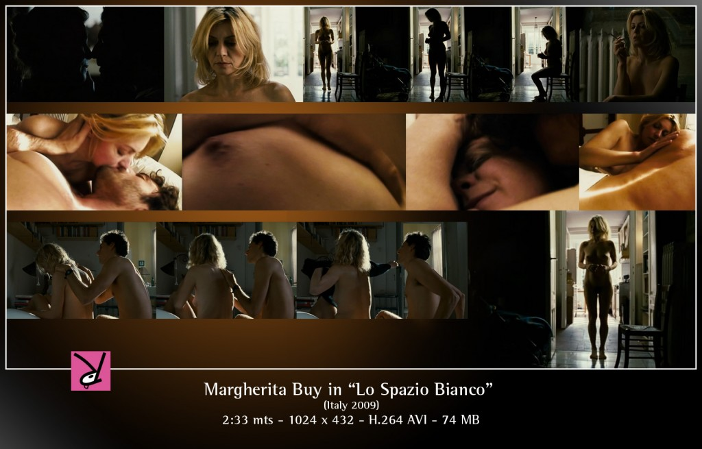 Margherita Buy in Lo Spazio Bianco