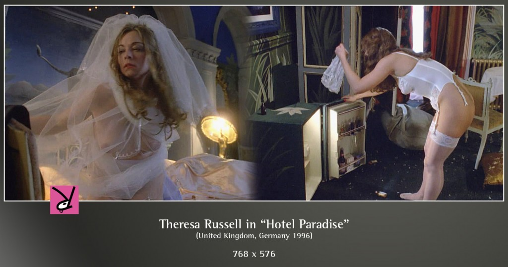 Theresa Russell in Hotel Paradise