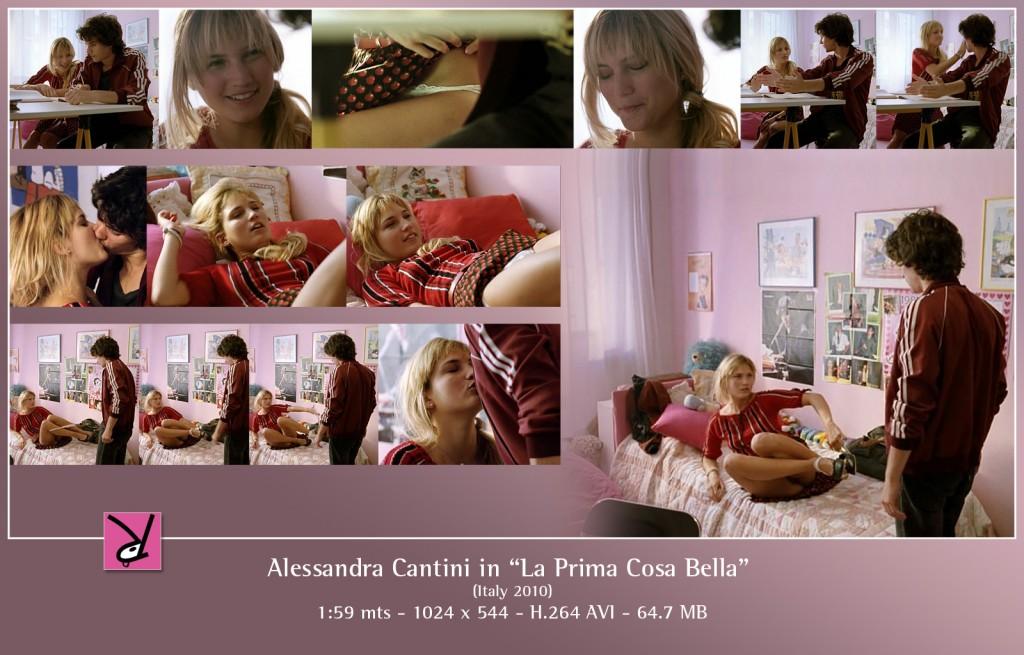 Alessabdra Cantini in La Prima Cosa Bella