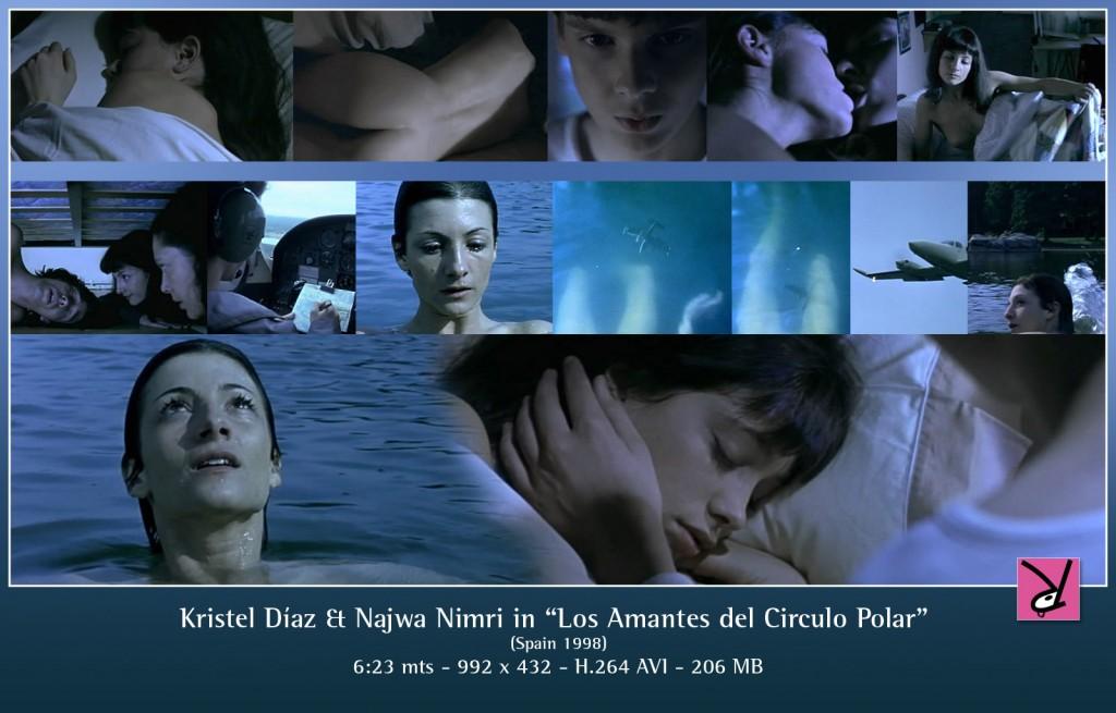 Kristel Diaz and Najwa Nimri in Los Amantes del Circulo Polar