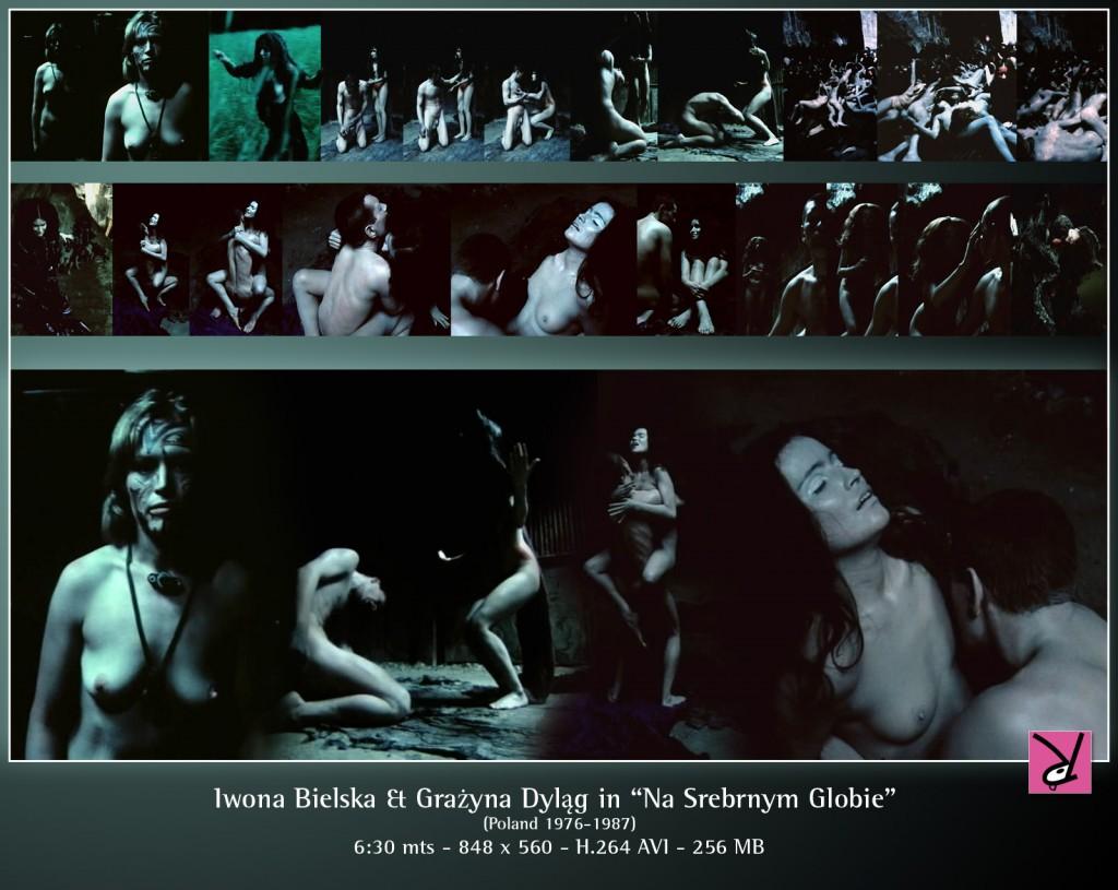 Iwona Bielska and Grazyna Dylag in Na Srebrnym Globie