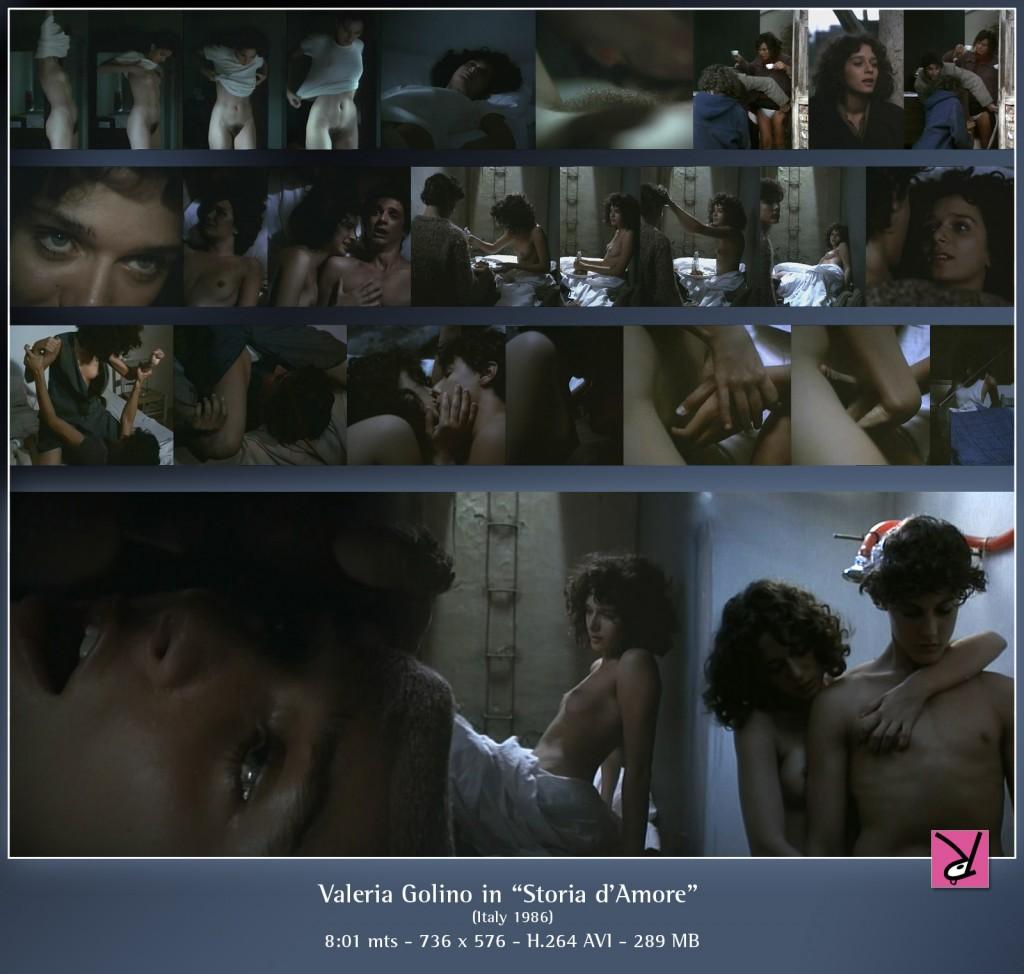 Valeria Golino in Storia d'Amore