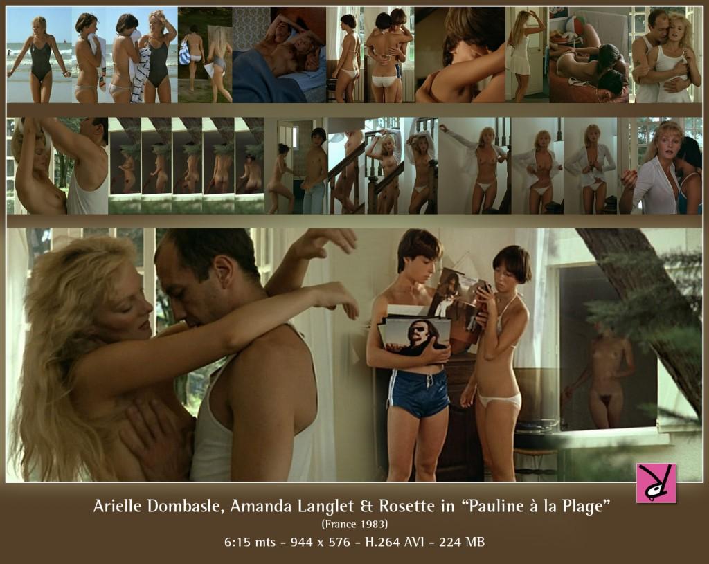 Arielle Dombasle, Amanda Langlet, and Rosette in Pauline à la Plage