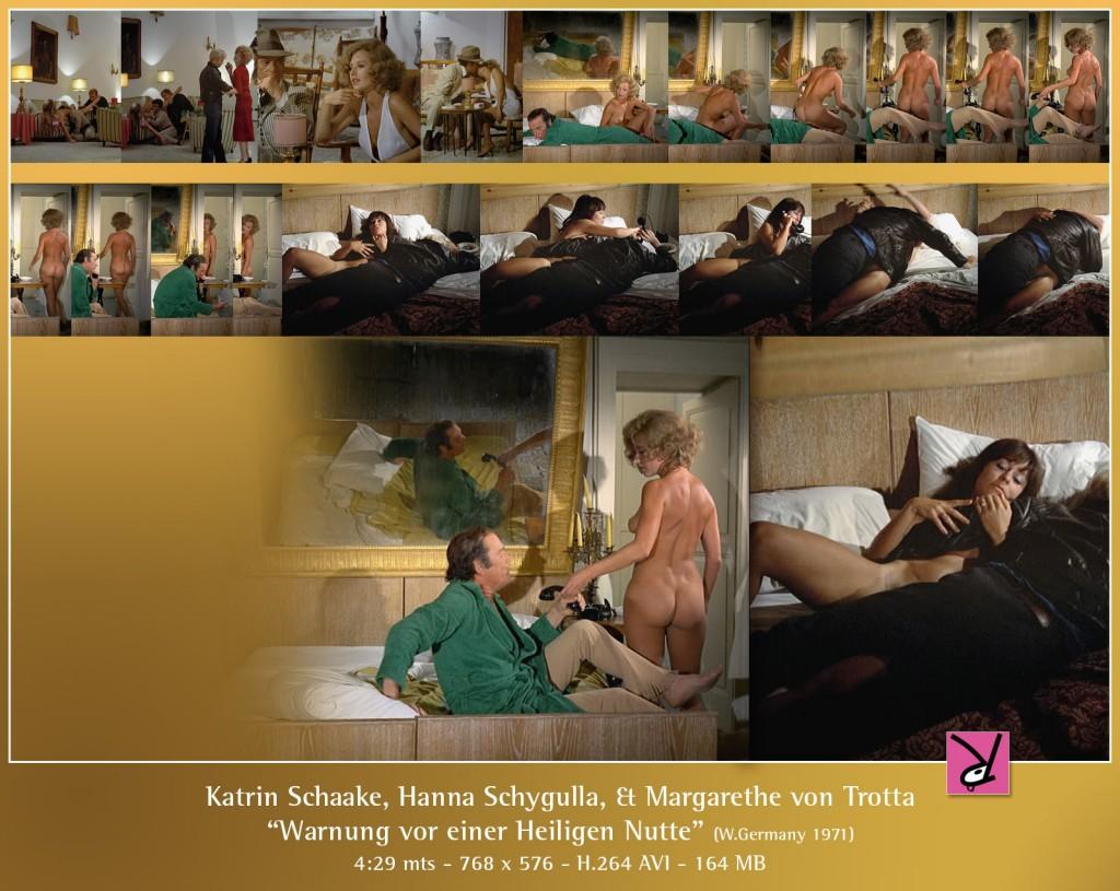 Hanna Schygulla, Katrin Schaake, and Margarethe von Trotta in Warnung vor einer Heiligen Nutte