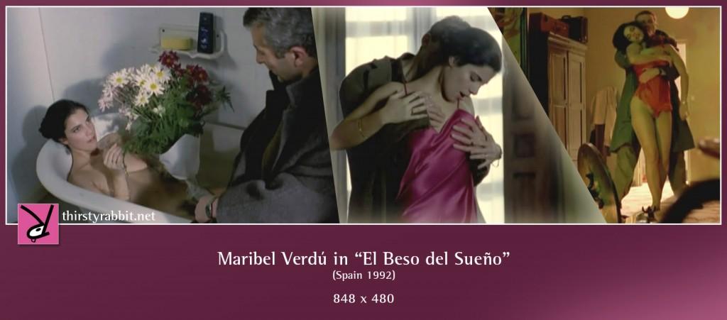 Maribel Verdú nude in El Beso del Sueño