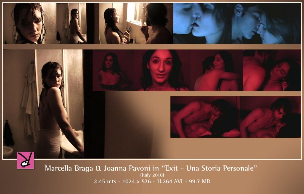 """Marcella Braga and Joana Pavoni in """"Exit - una storia personale"""""""
