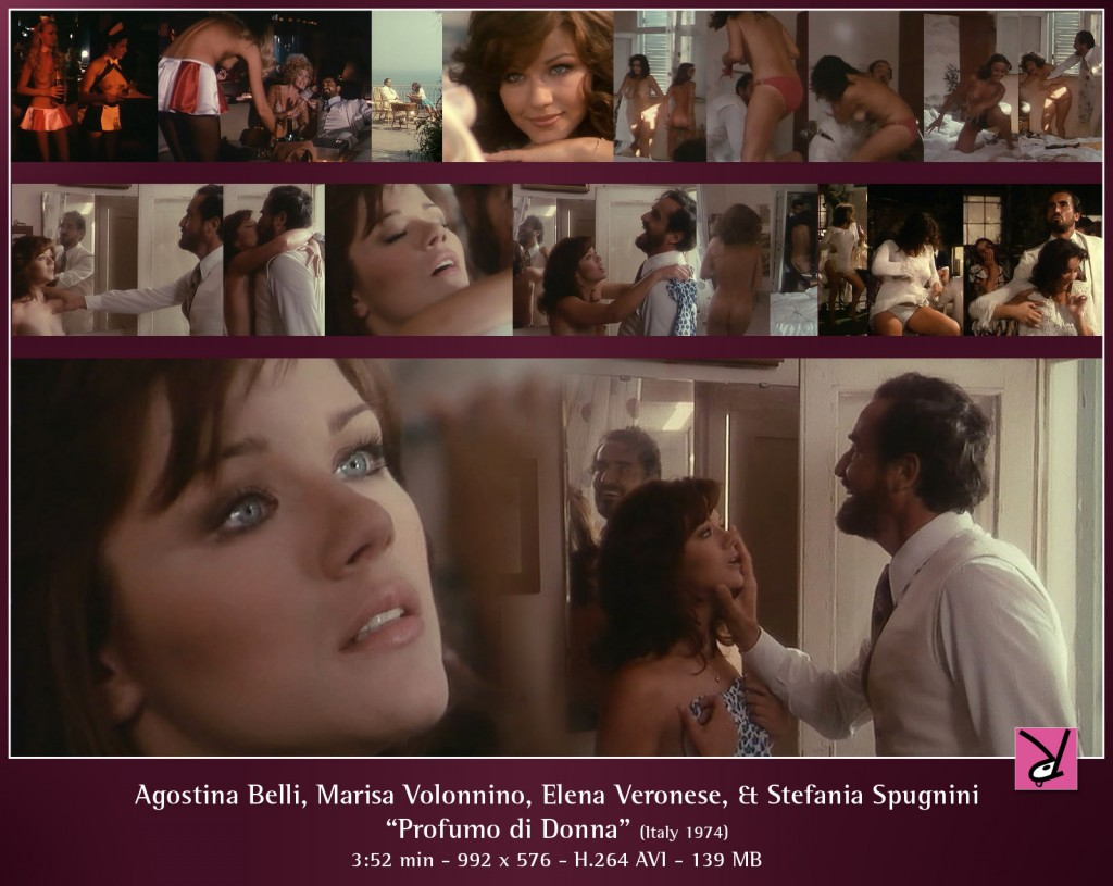 Agostina Belli and others in Profumo di donna