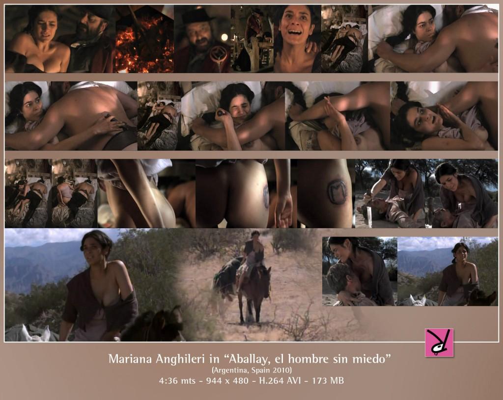 Mariana Anghileri in Aballay, el Hombre sin Miedo