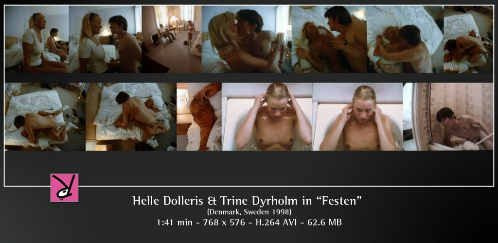 Helle Dolleris and Trine Dyrholm in Festen