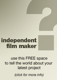 Use this space to publicise your film