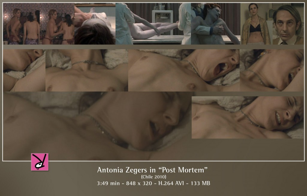 Antonia Zegers nude in Post Mortem