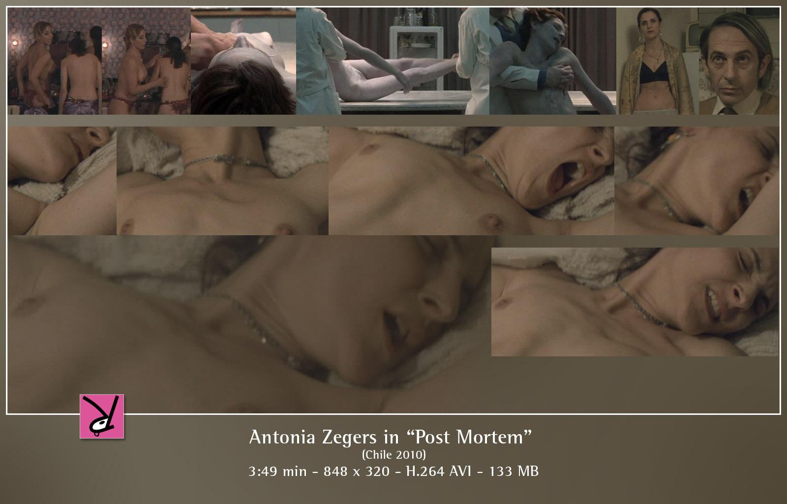 nackt Zegers Antonia Antonia Zegers