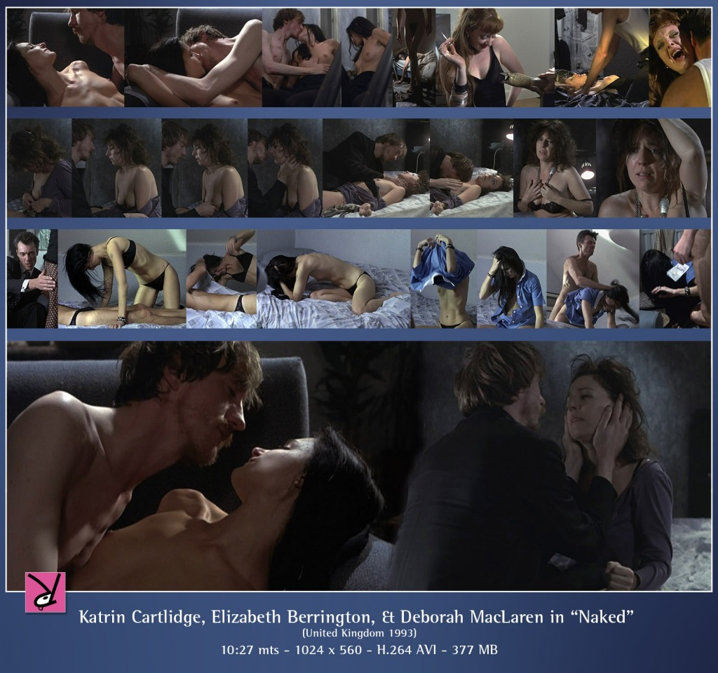 Katrin Cartlidge, David Thewlis, Elizabeth Berrington, and Deborah MacLaren in Naked