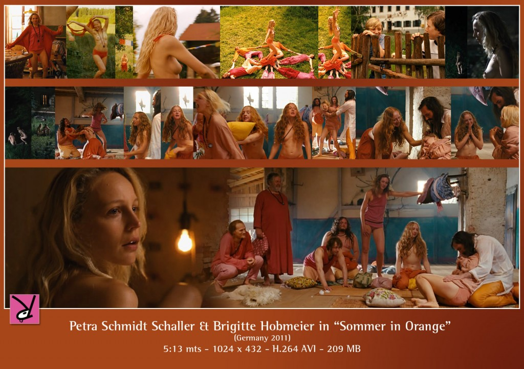 Petra Schmidt-Schaller and Brigitte Hobmeier in Sommer in Orange