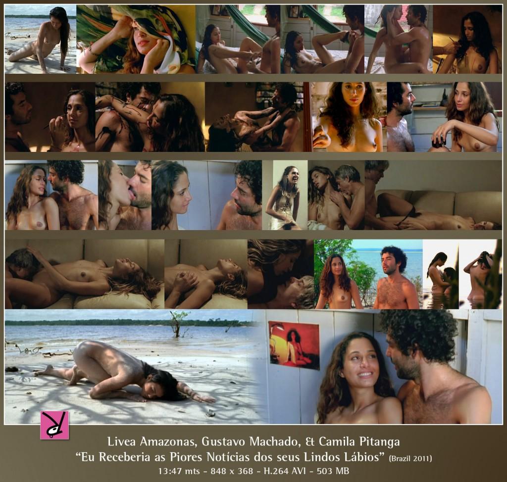 Camila Pitanga and Livea Amazonas in Eu Receberia as Piores Notícias dos seus Lindos Lábios