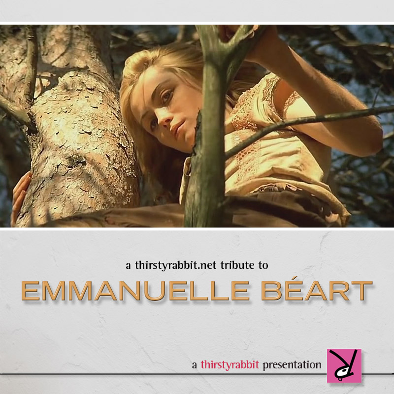 Emmanuelle Beart - a thirstyrabbit Tribute