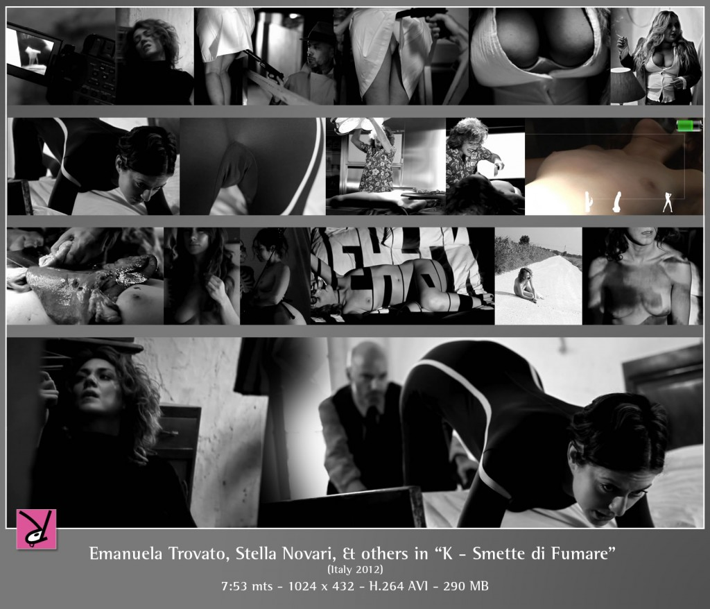 Emanuela Trovato, Stella Novari and others in K Smette di fumare