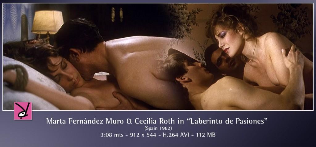 Marta Fernández Muro and Cecilia Roth in Laberinto de Pasiones